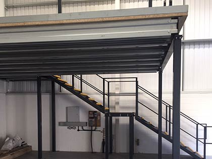 mezzanine flooring is a trusted way to utilise existing space for storage purposes